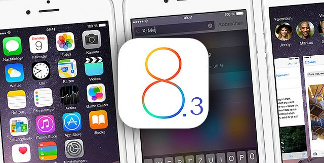 Apple iOS 8.3