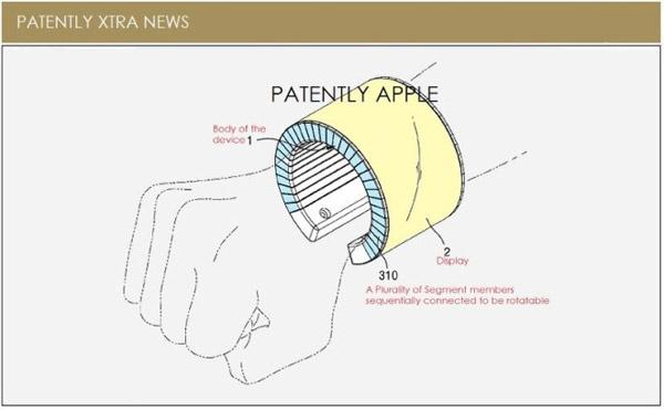Смартфон трансформирующийся в браслет с гнутым дисплеем