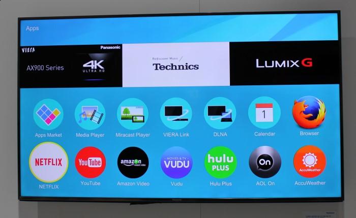 Скрин экрана с телевизора на Firefox OS