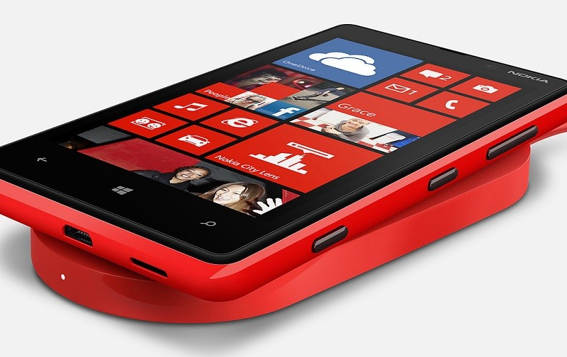 Беспроводная зарядка Windows Phone