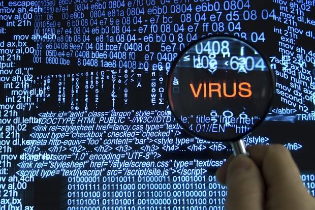 Атака, вирус, хакер