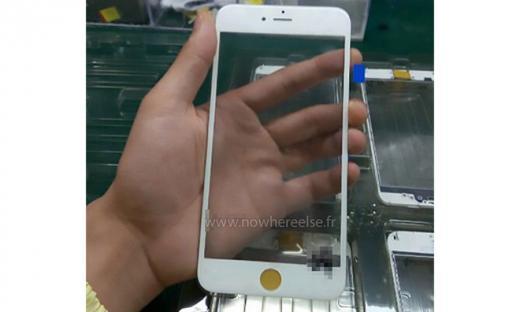 Шпионский снимок панели следующего iPhone