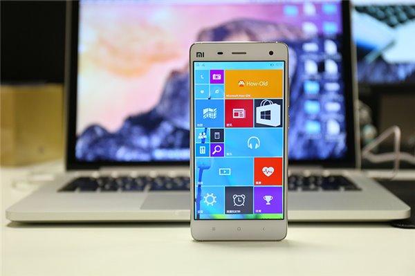 Windows 10 Mobile для Xiaomi Mi4