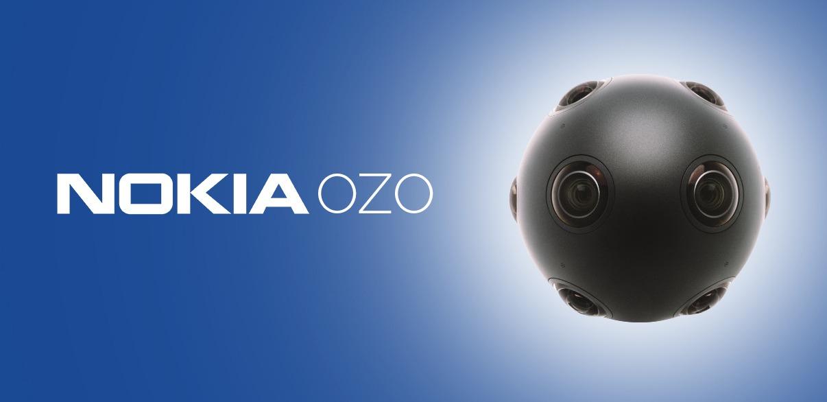 Nokia Ozo - камера виртуальной реальности