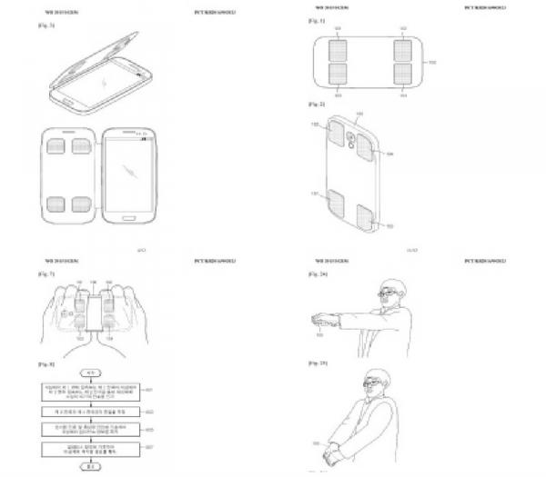 патент Samsung для измерения подкожного жира с помощью смартфона