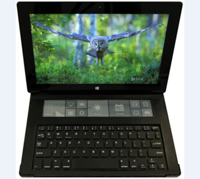 Microsoft выпустил клавиатуру с сенсорным e-ink дисплеем