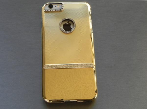 золотой чехол к Apple iPhone 6 Plus от магазина Gold Adore