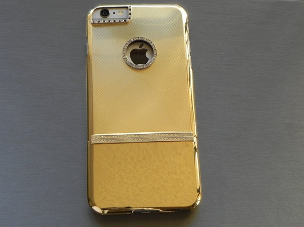 золотой чехол к Apple iPhone 6 Plus от магазина Gold Adore