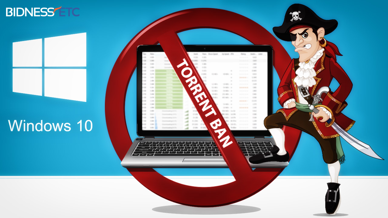 Торренты блокируют Windows 10
