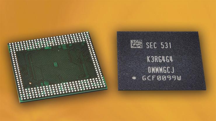 Samsung 12 Гб LPDDR4