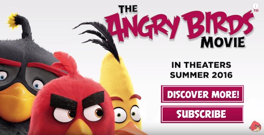Полнометражный фильм Angry Birds