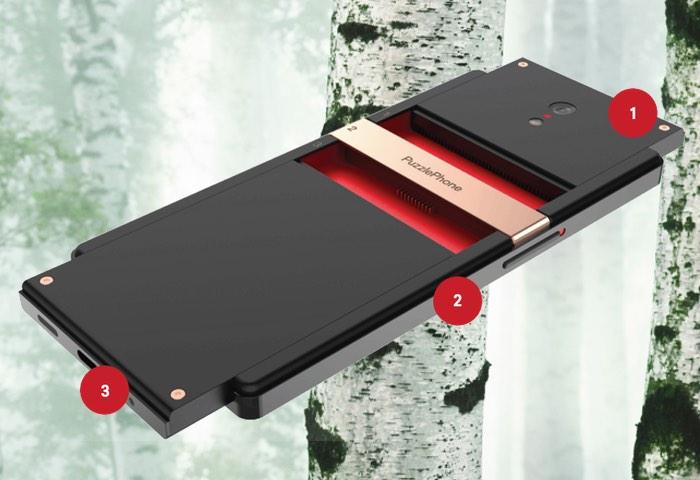 PuzzlePhone - Новый модульный смартфон