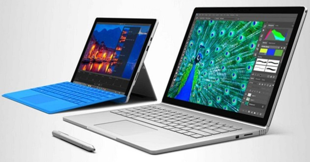 microsoft surface pro 4 и surface book
