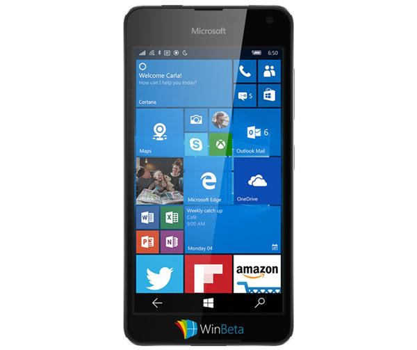 Microsoft Lumia 650 Saana