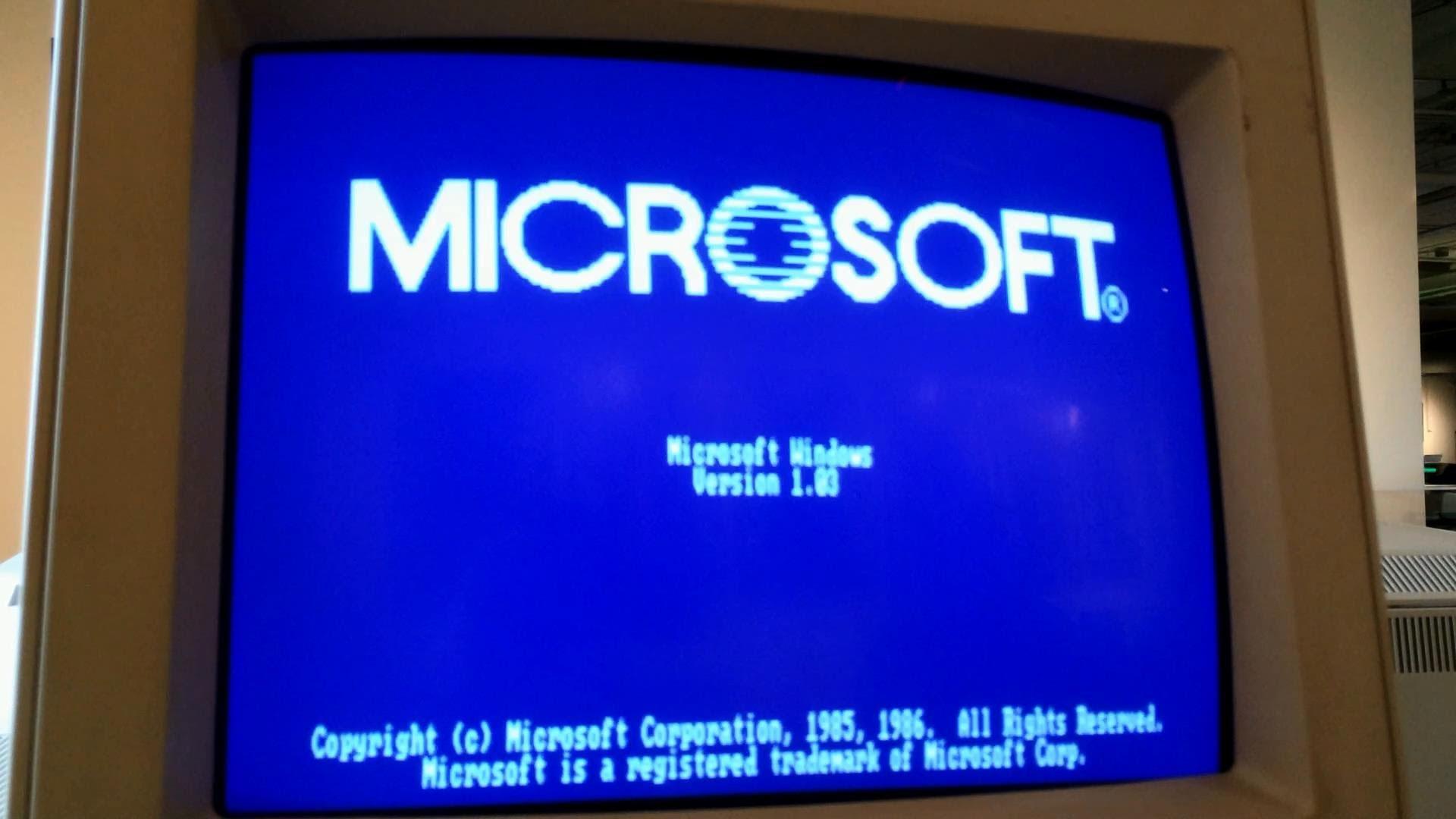 Microsoft Windows 1.03