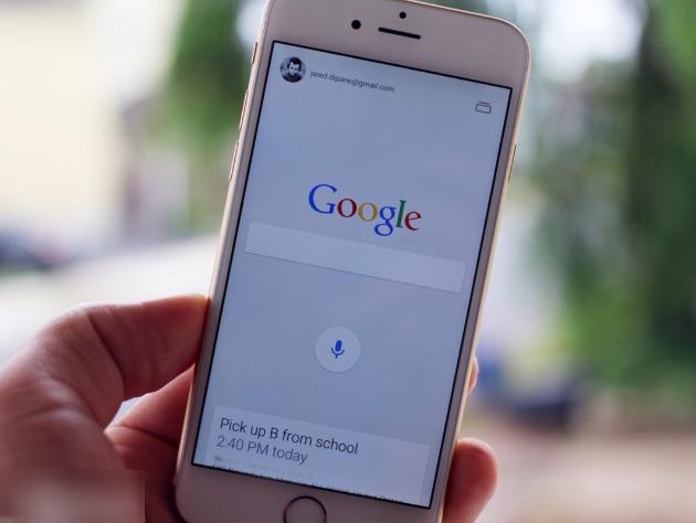 Google в iPhone