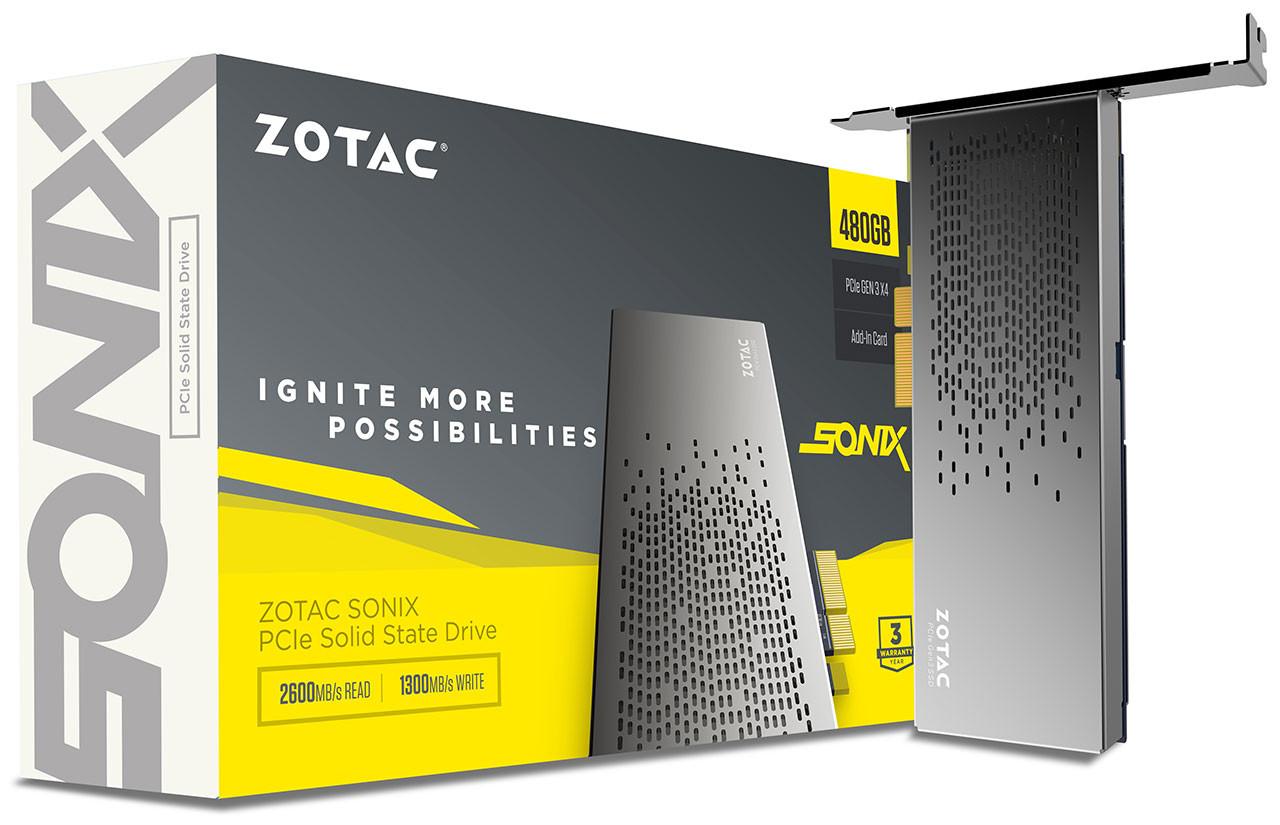 ZOTAC SONIX 480GB PCIe SSD