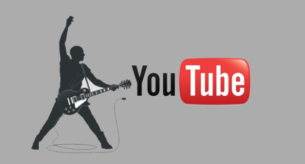 bandpage and youtube