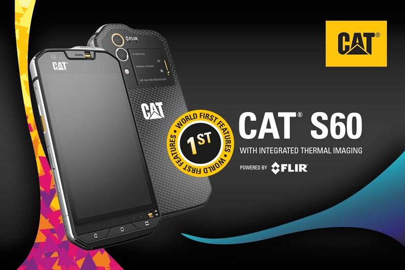 Защитный смартфон Cat S60