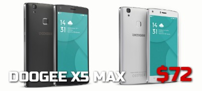 Doogee X5 Max - $72