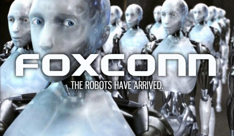 Роботы Foxconn