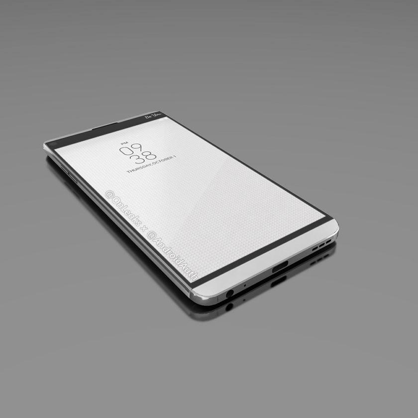 Рендер LG V20