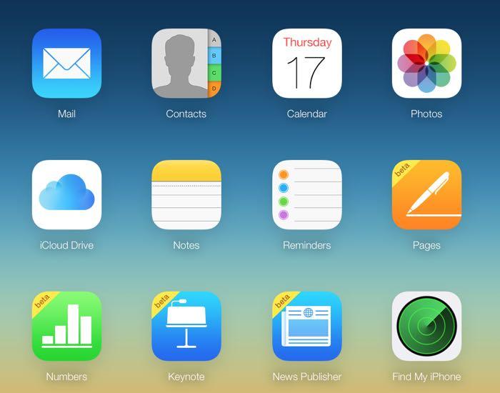 Хранилище Apple iCloud