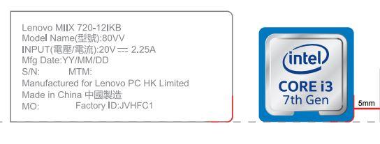 Lenovo Miix720