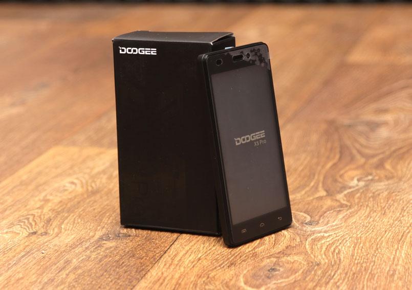 Обзор смартфона Doogee X5 Pro