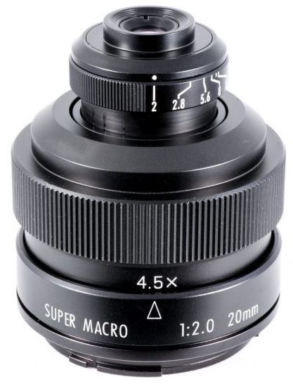 Zhongyi Mitakon 20mm f2.0 4.5X Super Macro Lens