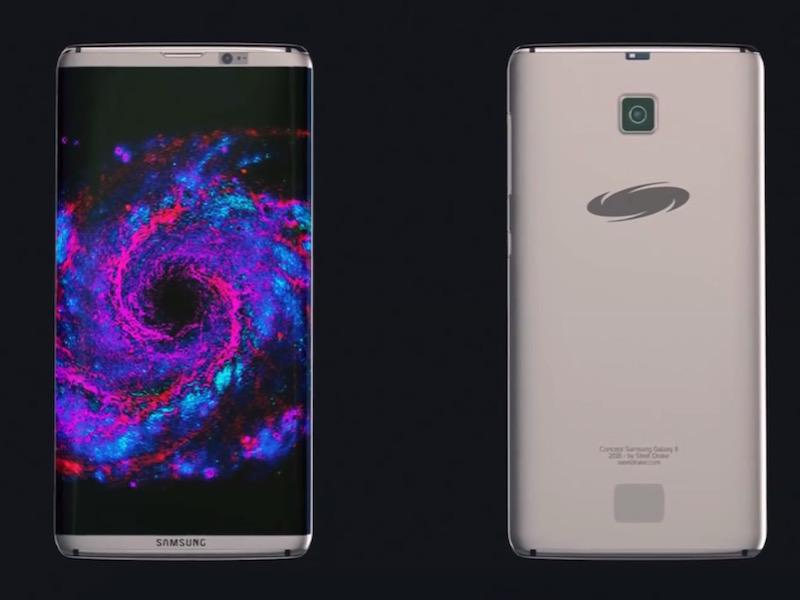 Samsung Galaxy S8 концепт
