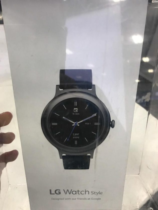 LG Watch Style BOX