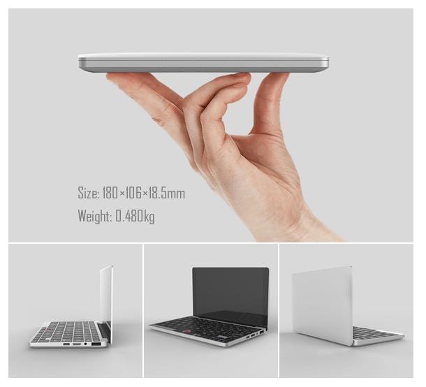 Карманный 7-дюймовый ноутбук GPD