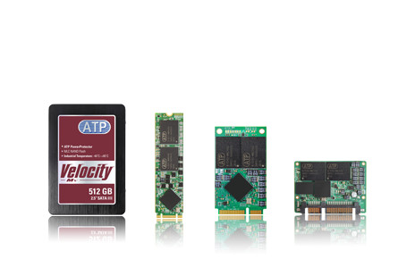 ATP представила новую линейку накопителей 3D NAND SSD на Embedded World 2017