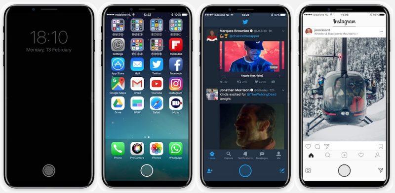 Концепт Apple iPhone 8