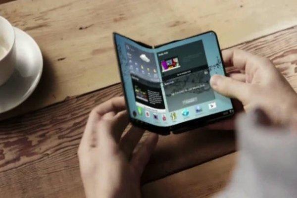 Гнущийся смартфон Samsung
