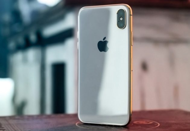 Gold Apple iPhone X