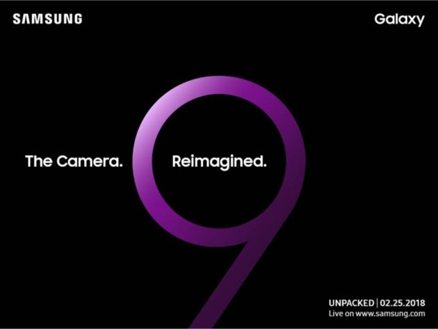 Unpacked 2018 Galaxy S9