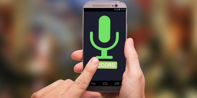 Прослушка смартфонов приложениями