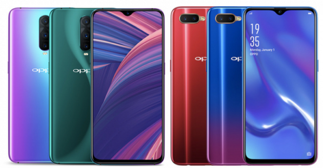 Oppo RX17 Pro и RX17 Neo